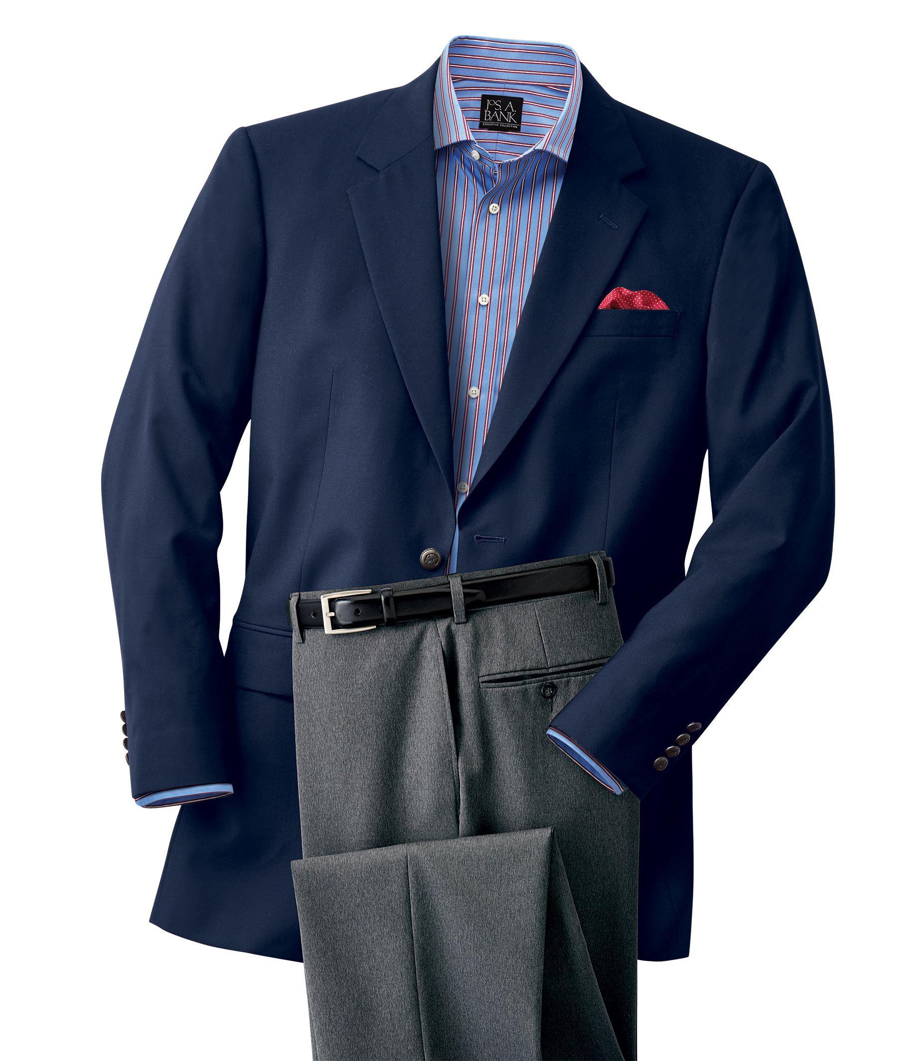 Executive Collection Tailored Fit Blazer  Executive Sportcoats  Jos A Bank