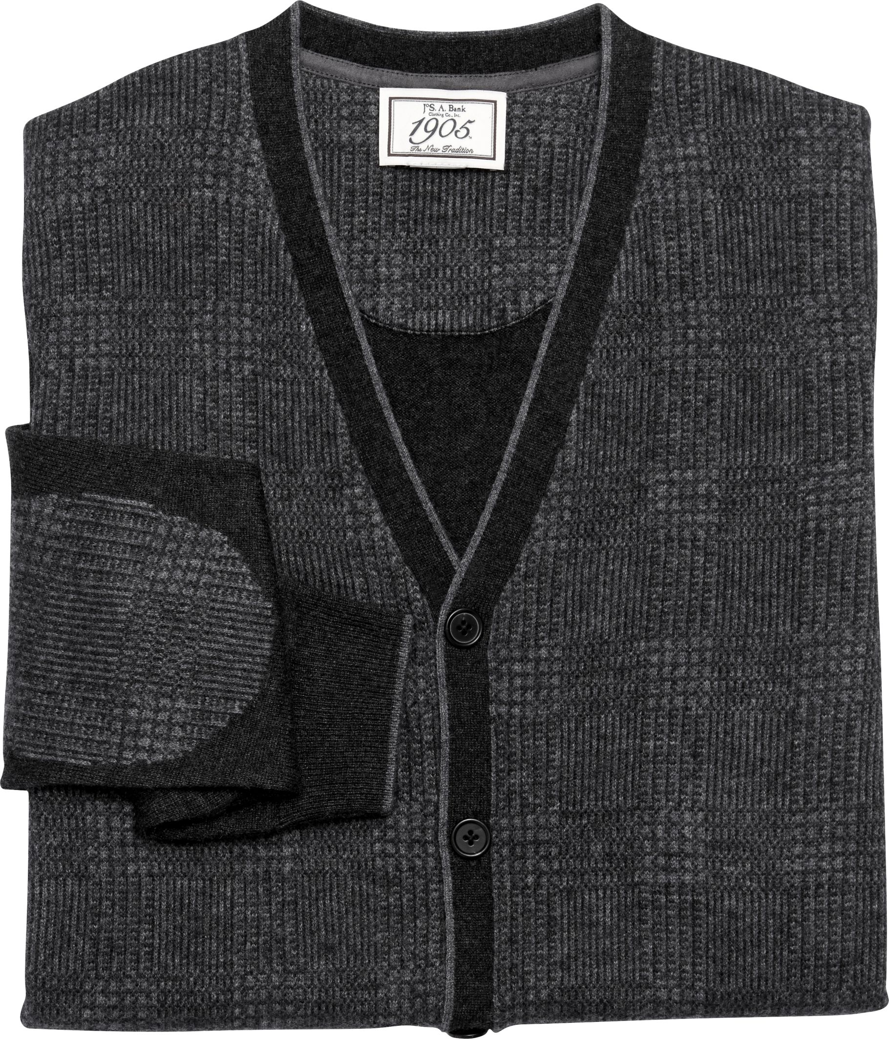 1905 Collection Wool Blend Plaid Cardigan Sweater CLEARANCE - All ...