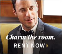 Tuxedos : Charm the room, Rent now>