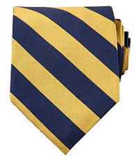 Collegiate Tie-Maize/Blue