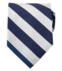 Collegiate Tie-Blue/White