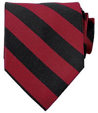 Collegiate Tie-Red/Black