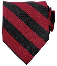 Collegiate Tie-Red/Black
