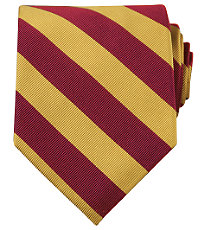 Collegiate Tie-GarnetGold $49.50 AT vintagedancer.com