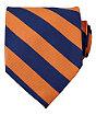 Collegiate Tie-Orange/Navy