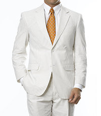 Stays Cool 2-Button Seersucker Suit