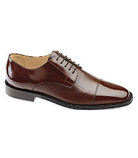 Corbett II Cap Toe Shoe by Johnston and Murphy $175.00 AT vintagedancer.com