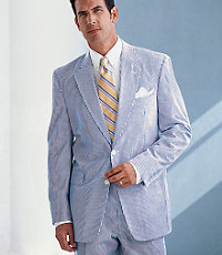 JoS. A. Bank 2-Button Seersucker Suit
