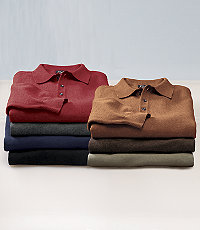 Signature Pima Cotton Polo Sweater