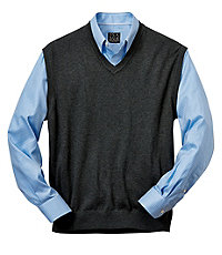 Signature Pima Cotton Sweater Vest