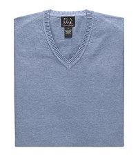 1920s Style Mens Vests Signature Pima Cotton Mens Sweater Vest - Small Navy $29.00 AT vintagedancer.com