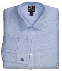 Signature Wrinkle-Free Spread Collar French Cuff Dress Shirt