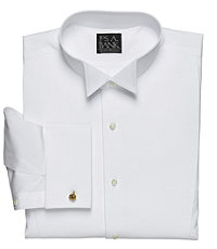 Art Pique Bib Wing Collar Formal Big/Tall Dress Shirt