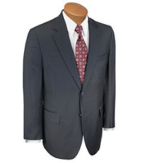 Traveler Suit Separates 2-button Jacket- Black Windowpane