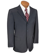 Traveler Suit Separates 3-button Jacket- Black Windowpane