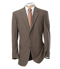 Executive 2-Button Wool Patterned Suit