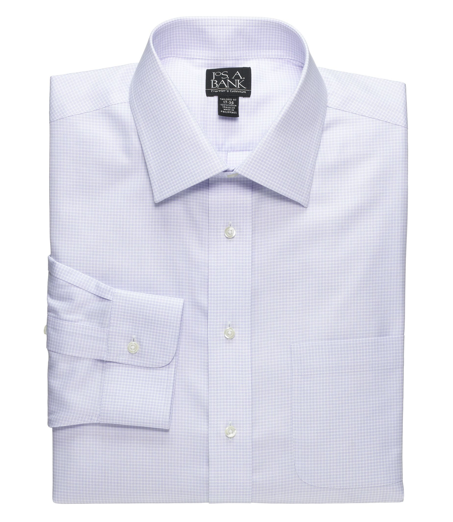 Wrinkle Free & No Iron Dress Shirts | Traveler Collection | JoS. A ...