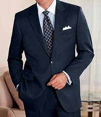 Traveler Suit Separate 2-Button Jacket