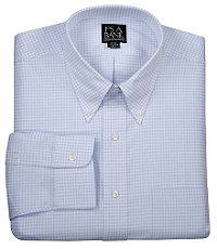 Executive Buttondown Collar Pattern Dress Shirt