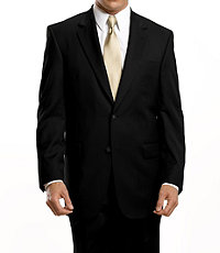 Traveler Suit Separates 2-Button Jacket- Big & Tall Sizes