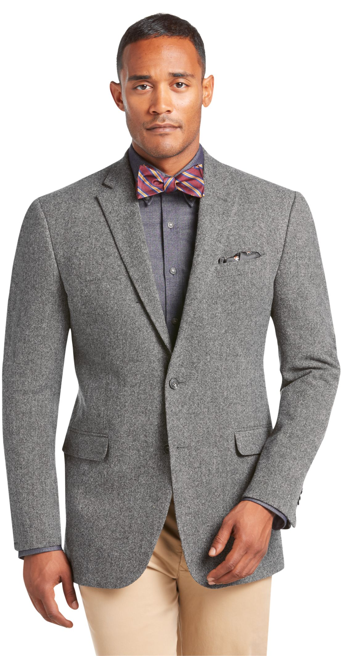 1905 Collection Tailored Fit Donegal Tweed Sportcoat - 1905 ...