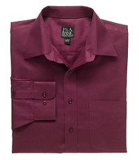 Traveler Solid Twill Point Collar Sportshirt