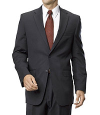 Traveler Tailored Fit 2 Button Suit- Grey Checkered, Navy