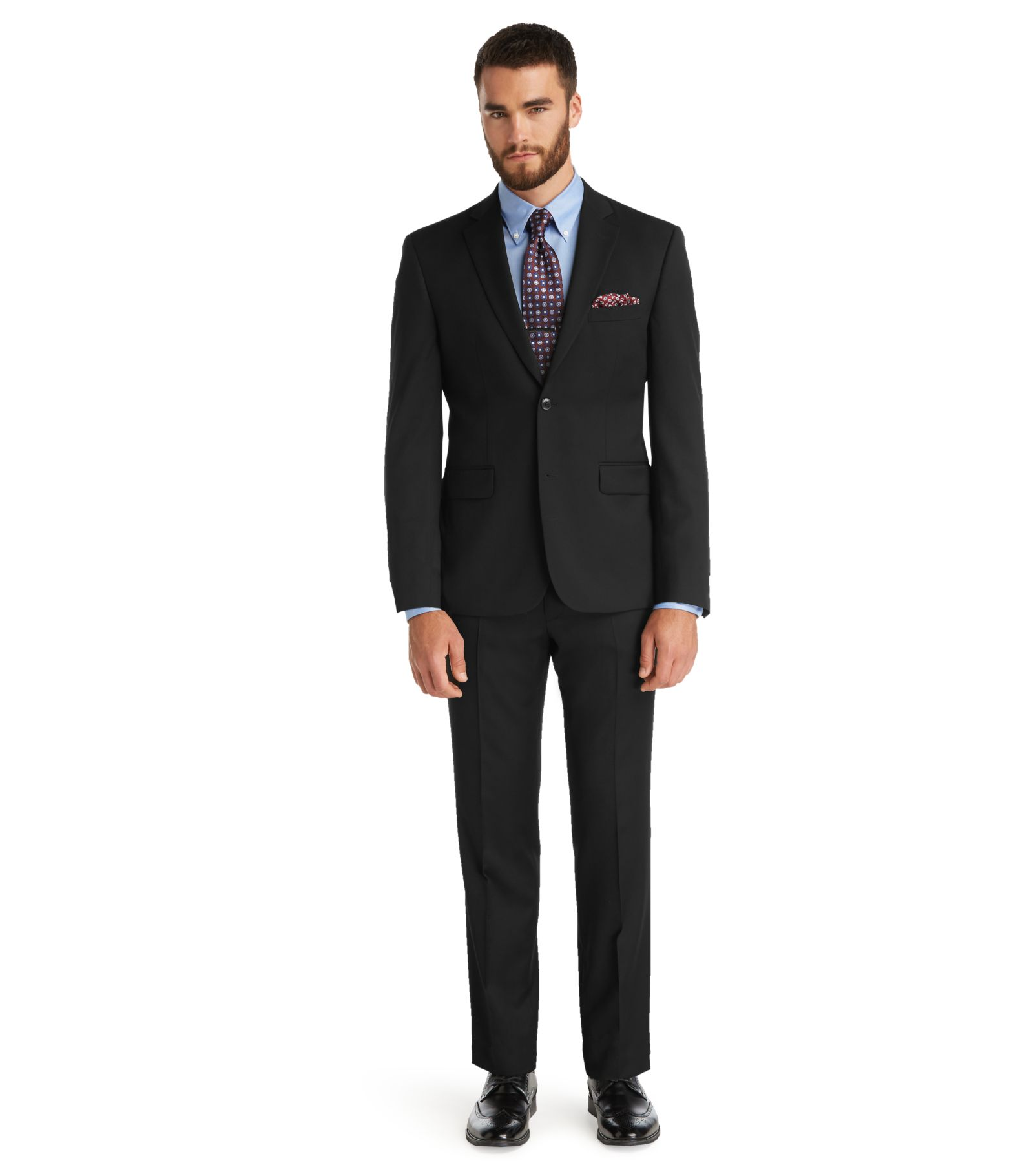 Cheap suit stores near me dress yy for Jos a bank tailored fit vs slim fit shirts