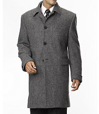 Joseph Harris Tweed 3/4 Length Topcoat