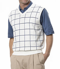 Leadbetter's Windowpane Vest