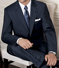 Signature Merino Wool 2-Button Wool Suit