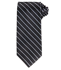 "Platinum Stripe Tie 61"" Long"