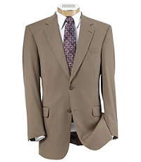 Signature 2-Button Wool Suit - British Tan