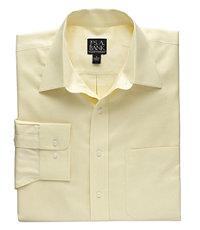 Traveler Solid Twill Point Collar Sportshirt