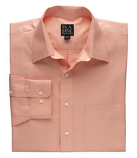 Traveler Tailored Fit Point Collar Long-Sleeve Sportshirt