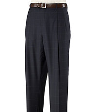 Signature Wool Pleated Trousers