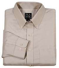 Traveler Herringbone Cotton Sportshirt Big or Tall