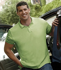Traveler Short Sleeve Solid Polo Big and Tall