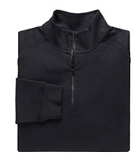 David Leadbetter Pima Cotton Half Zip