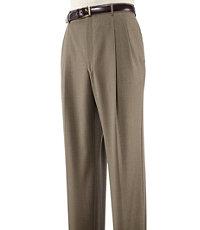 Factory Store Pleated Herringbone Pants