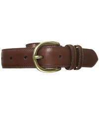 Factory Saddle Stitch Casual Belt