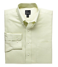 Traveler Solid Twill Buttondown Sportshirt Big or Tall