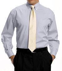 Factory Store Non-Iron Standard Fit Button Down Collar Dress Shirt