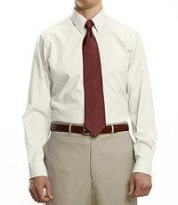 Factory Store Non-Iron Standard Fit Point Collar Dress Shirt