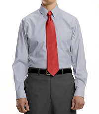 Classic Collection Non-Iron Standard Fit Point Collar Dress Mens Shirt (Multiple Options)