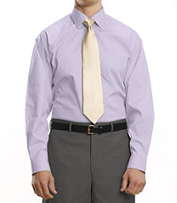 Click here for Classic Collection Non-Iron Standard Fit Spread Collar Dress Shirt CLEARANCE, by JoS. A. Bank, Men's Dress Shirts - 15 1/2X35, Purple prices