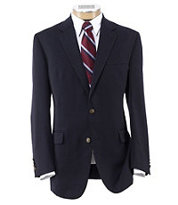 Factory Store Classic 2-Button Navy Blazer