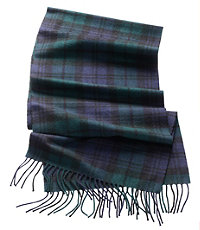 Cashmere Scarf- Blackwatch