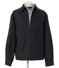Wool Open Bottom Jacket