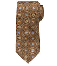 Signature Large Medallion Tie